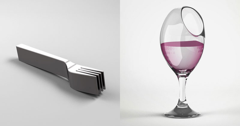 Deliberately Inconvenient Everyday Objects