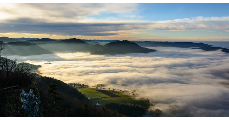 Picture of the Day: Valley Fog in LowerAustria