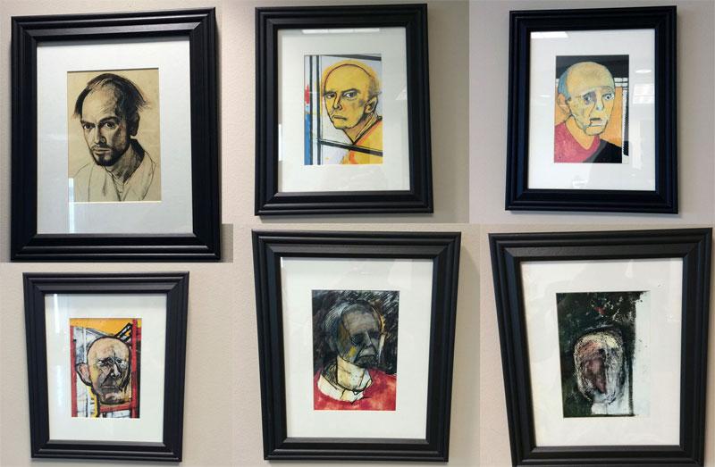Artist's Battle with Alzheimer's Documented Through GrippingSelf-Portraits