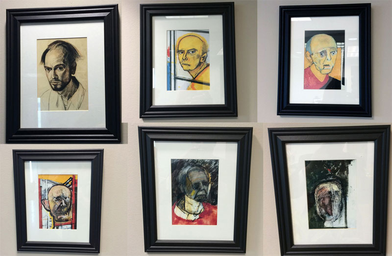 Artist's Battle with Alzheimer's Documented Through Gripping Self-PortraitPaintings