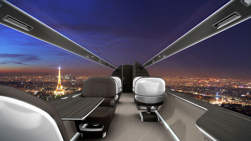 windowless plane concept design 9 The Startup Thats Trying to Make VR Theme Parks a Reality