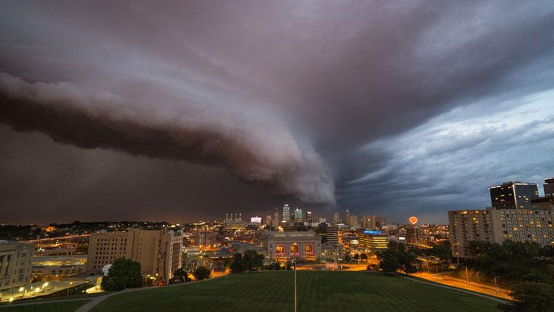 Arcus Cloud Kansas CityTimelapse