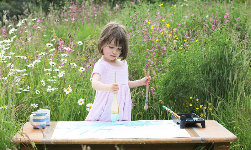 Autistic 5-Year-Old Expresses Herself Through Her Extraordinary Art