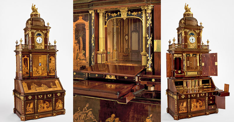 The Craftsmanship in this 200-Year-Old Desk Will Blow Your Mind ...
