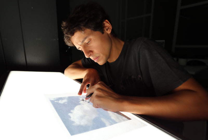 drawing on top of clouds by Martín Feijoó (1)