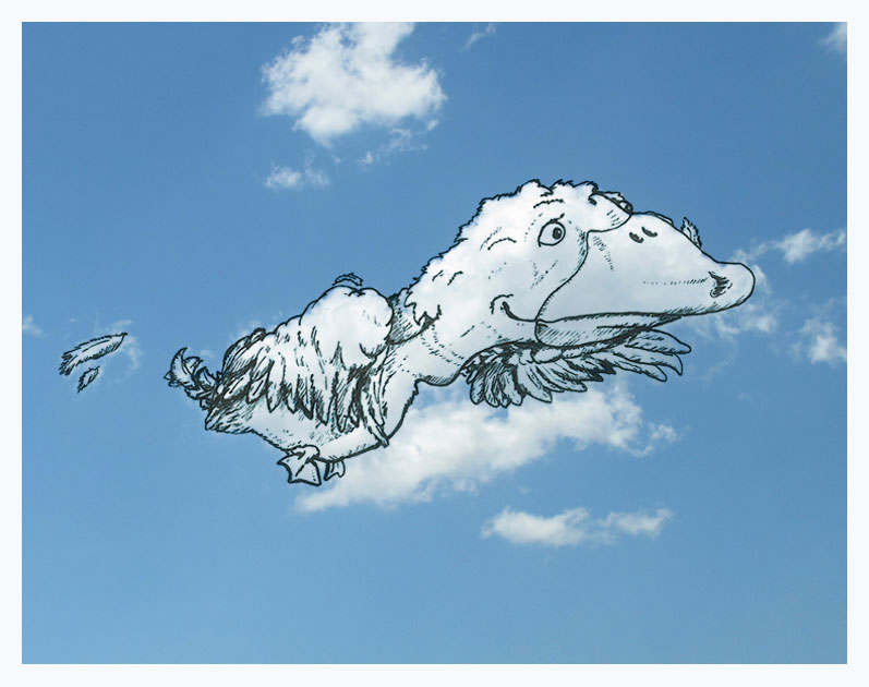 drawing on top of clouds by Martín Feijoó (15)