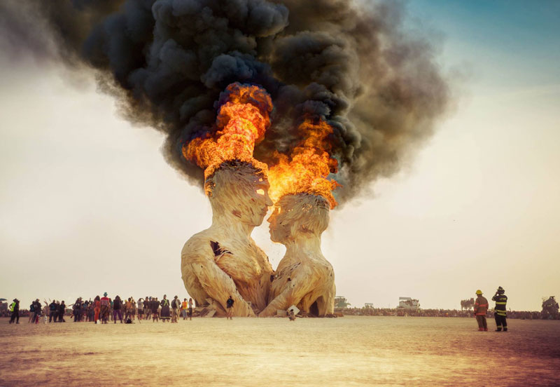 embrace sculpture burning man 2014 trey ratcliff The Sifters Top 75 Pictures of the Day for 2014