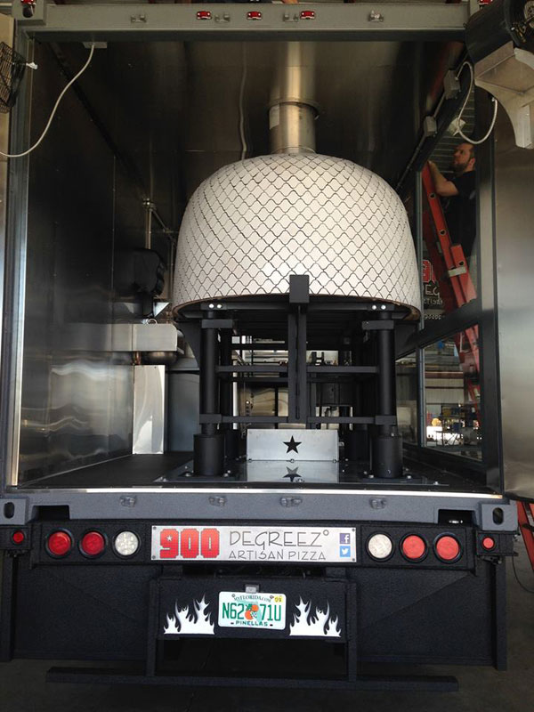 Food Truck With Wood Burning Pizza Oven 1 171 Twistedsifter