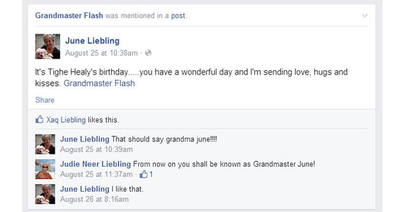 These Adorable Grandmas Keep Accidentally Tagging Themselves as GrandmasterFlash