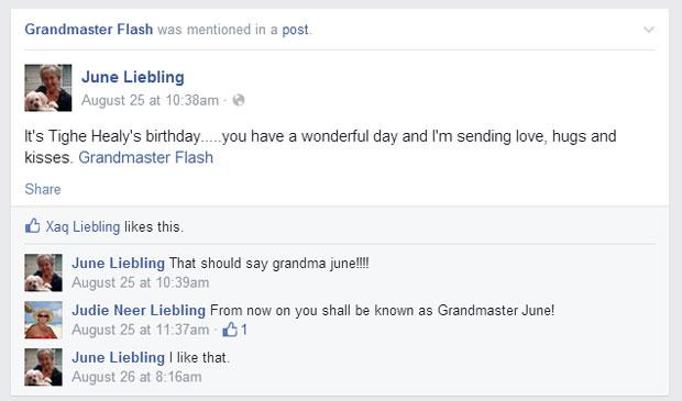 grandmas grandmothers accidentally tag grandmaster flash on facebook 1 What Facebook Feels Like in 2014