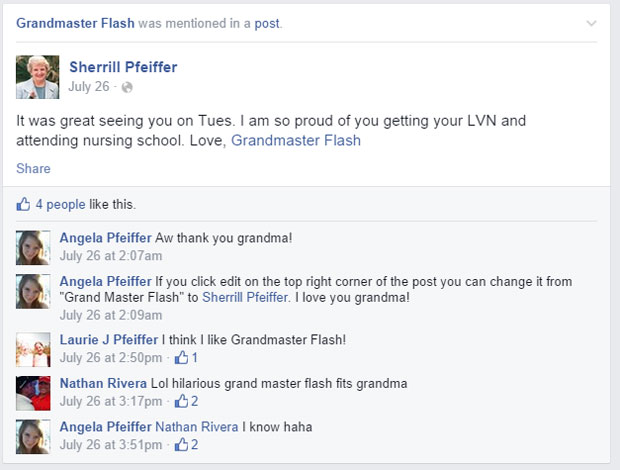 grandmas grandmothers accidentally tag grandmaster flash on facebook (11)