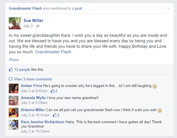 grandmas grandmothers accidentally tag grandmaster flash on facebook (12)