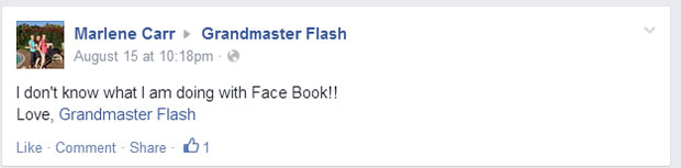 grandmas grandmothers accidentally tag grandmaster flash on facebook (5)