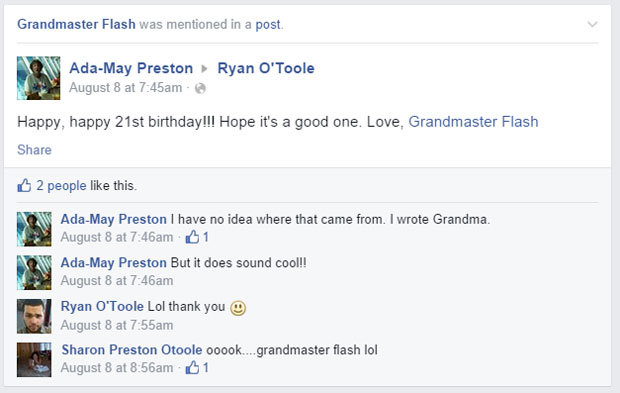 grandmas grandmothers accidentally tag grandmaster flash on facebook (6)
