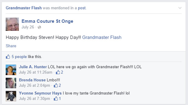 grandmas grandmothers accidentally tag grandmaster flash on facebook (7)