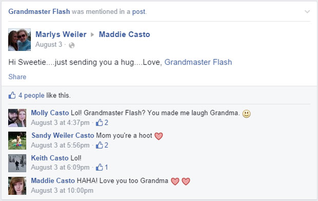 grandmas grandmothers accidentally tag grandmaster flash on facebook (8)