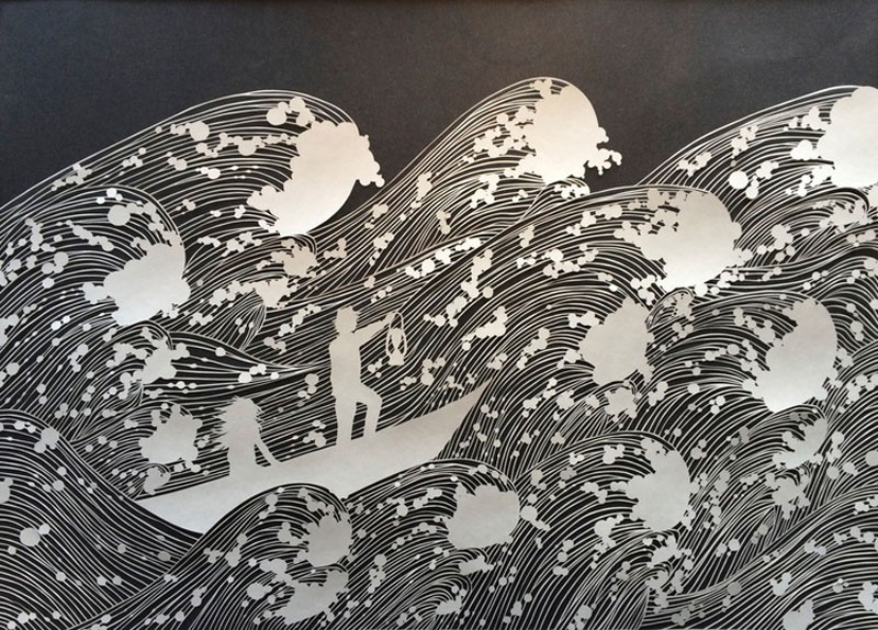 Intricate Paper Artworks Cut By Hand TwistedSifter - Intricate hand cut paper art maude white