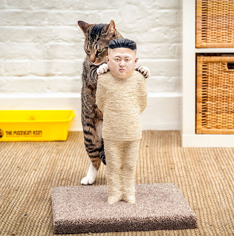kim jong un scratching post for cats The Shirk Report   Volume 283