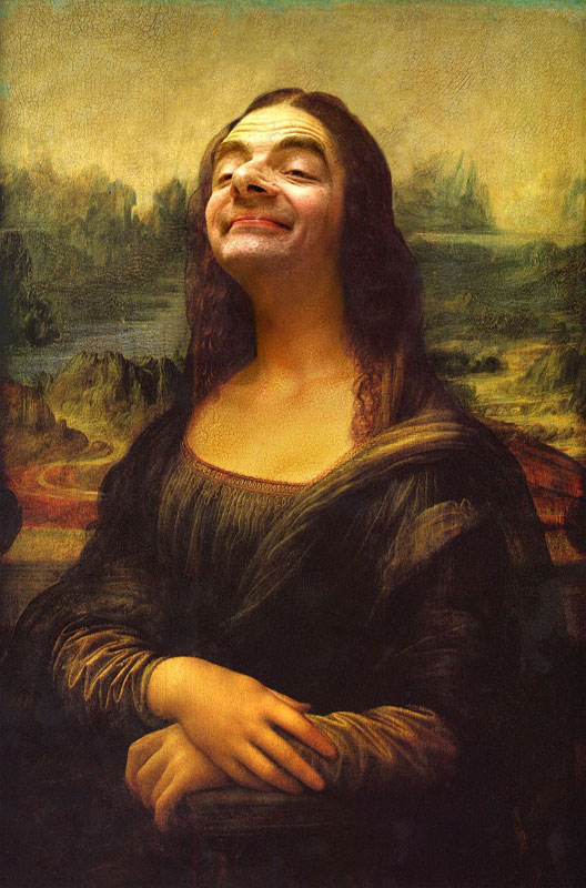 Rodney Pike Photoshop Mr Bean Into Famous Paintings (13