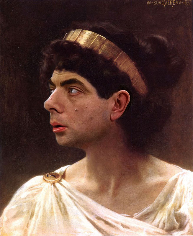 rodney pike photoshop mr bean into famous paintings (3)