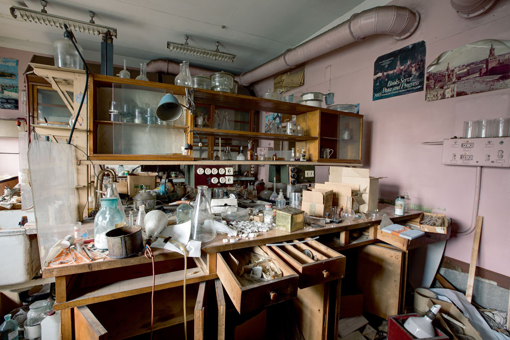 RUSSIA---Chemical-Laboratory