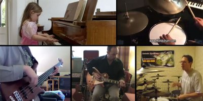 Producer Makes Song by Sampling Video Clips of Amateur Musicians onYouTube