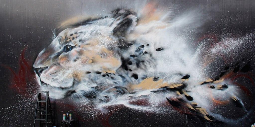 splatter ink animal portraits by hua tunan (18)