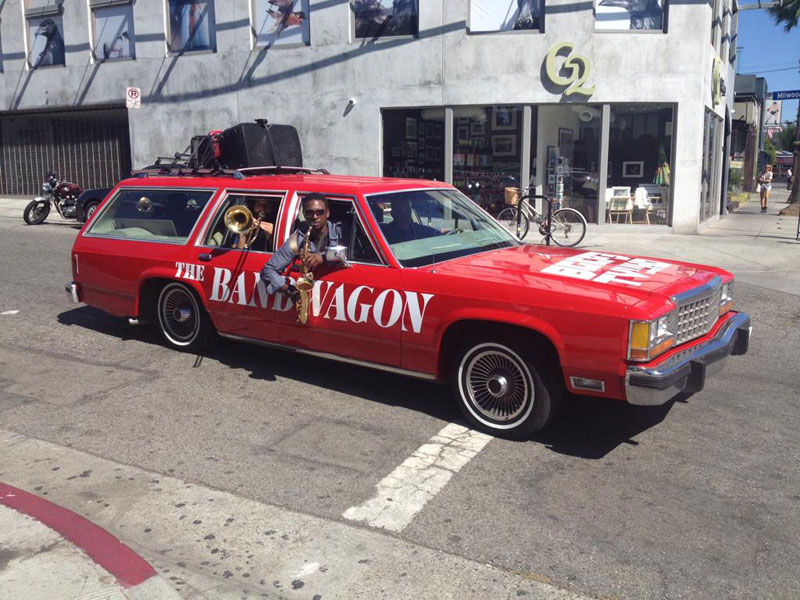 the bandwagon wagon with a band The Shirk Report   Volume 284