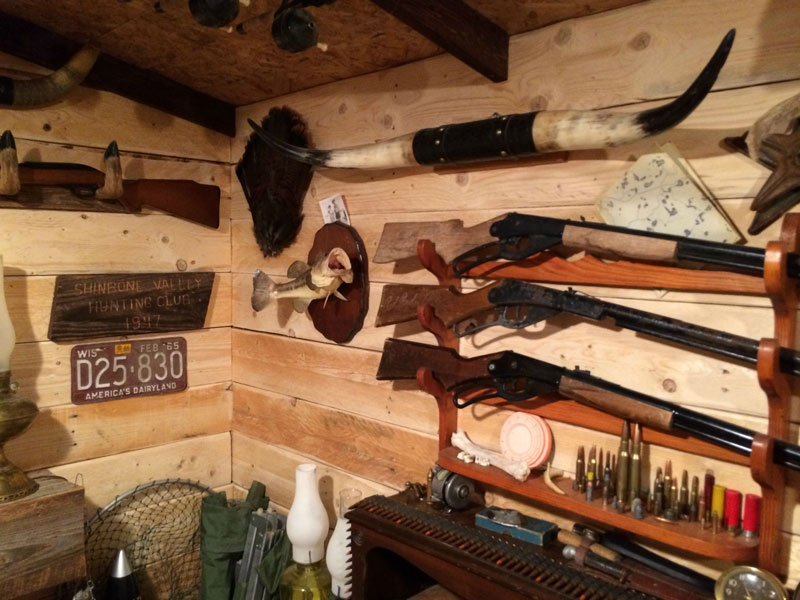 This Guy Built A Rustic Cabin Man Cave For 107 171 Twistedsifter