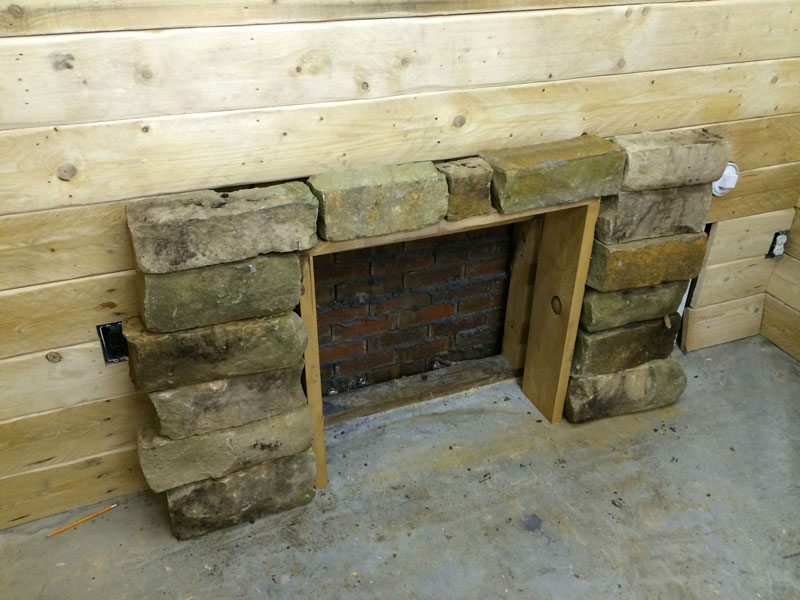How To Build Man Cave Furniture : This guy built a rustic cabin man cave for «twistedsifter