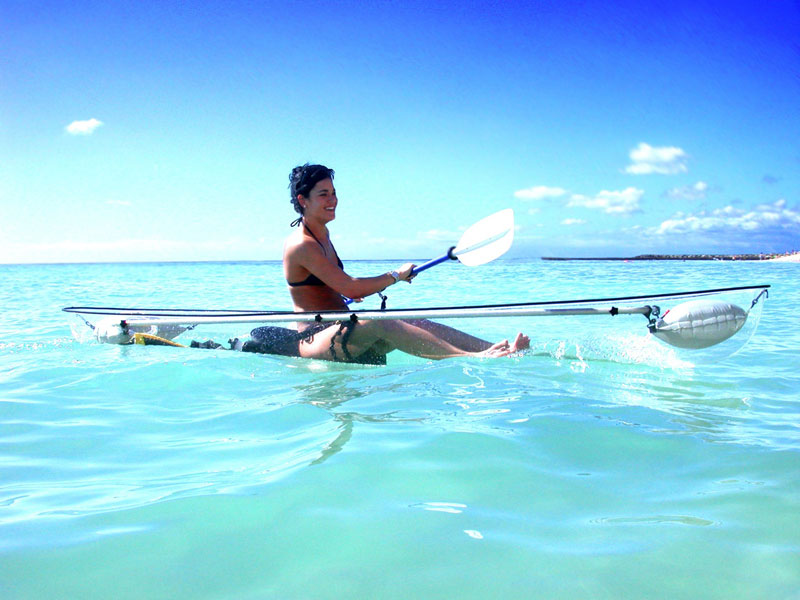 picture of the day the transparent kayak twistedsifter