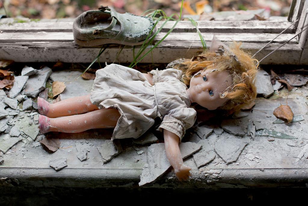 UKRAINE---Chernobyl-Kindergarten