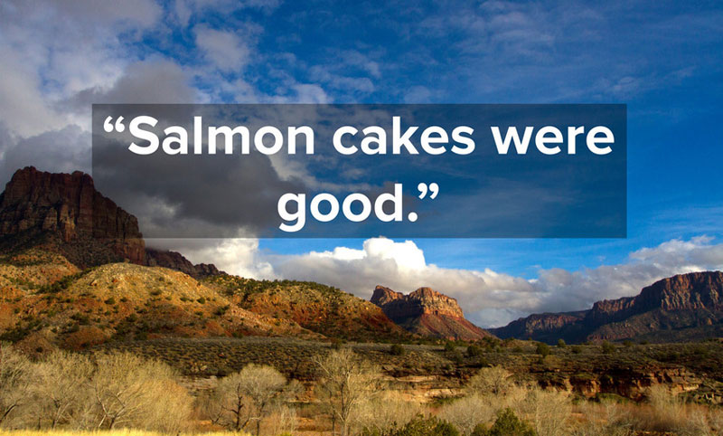 1-Star Yelp Reviews of NationalParks