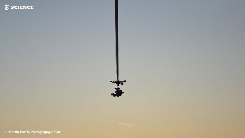 Picture of the Day: Google Exec Quietly Breaks Highest Jump World Record