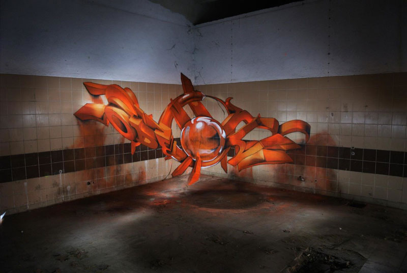 anamorphic graffiti murals that leap off the wall by odeith (13)