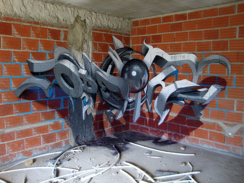 anamorphic graffiti murals that leap off the wall by odeith (15)