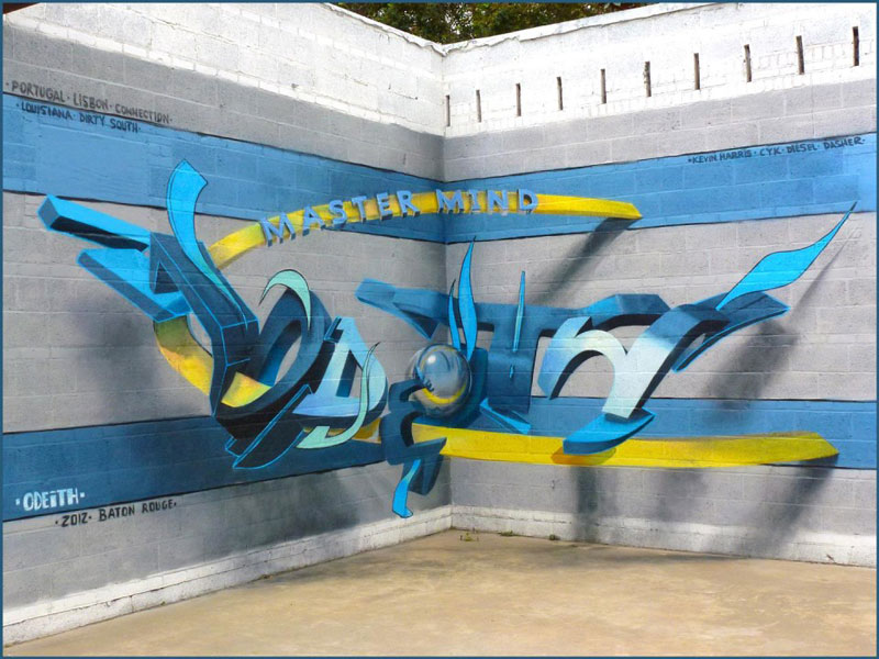 anamorphic graffiti murals that leap off the wall by odeith (8)