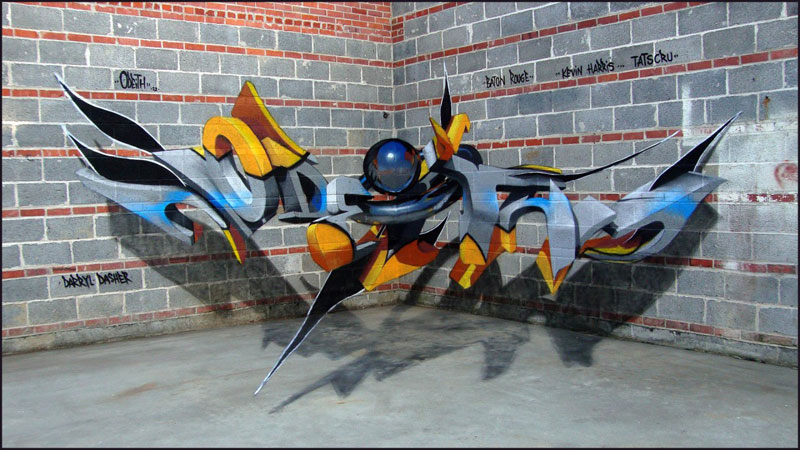anamorphic graffiti murals that leap off the wall by odeith (9)