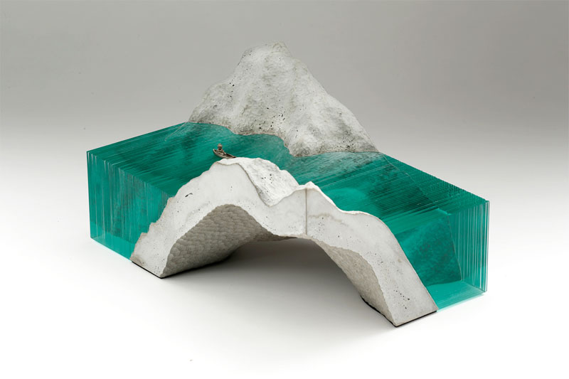 Glass Wave Sculptures By Ben Young 171 Twistedsifter