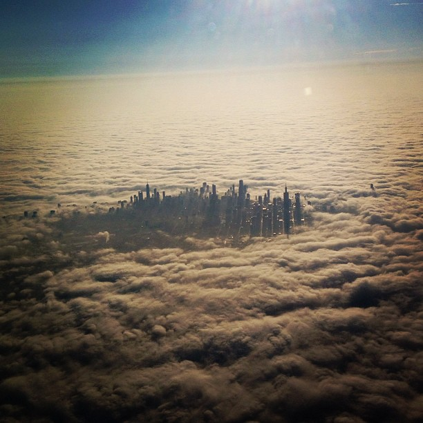 Picture of the Day: Cloud CityChicago