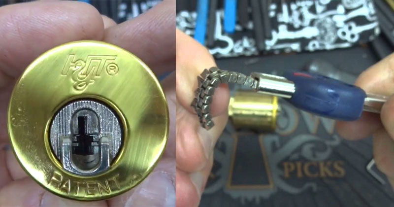 This is the Coolest Lock I've Ever Seen