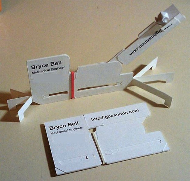 26 creative business cards that arent even cards twistedsifter creative business cards that arent cards 15 reheart Gallery