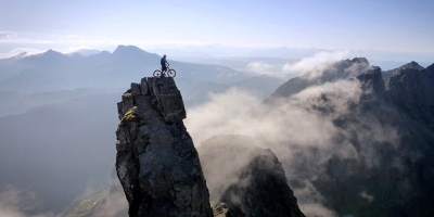 Danny MacAskill Rides the Infamous Ridge on the Isle of Skye