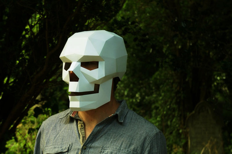Geometric 3D Paper Masks by Steve Wintercroft (7)