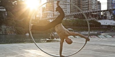 This Cyr Wheel Routine is SimplyIncredible