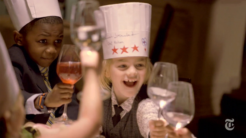 The New York Times Treats 2nd Graders to a $220 Seven-Course TastingMenu