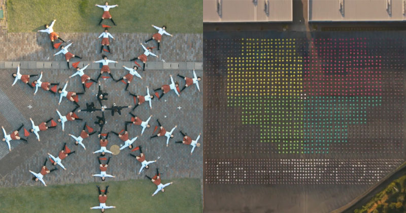 OK Go's Latest Video Features Drones, Unicycles and Lots ofUmbrellas