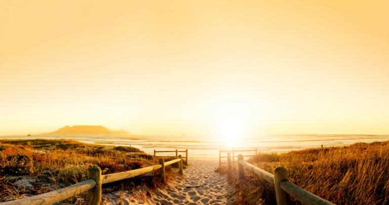 Sunset Beach Walk, Cape Town