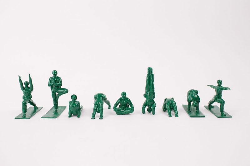 Yoga Joes: Little Plastic Green Army Men DoingYoga