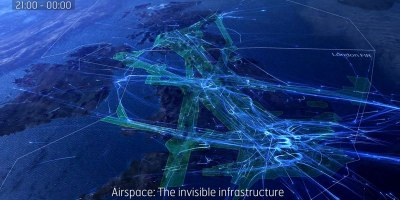 A Typical Day in UKAirspace